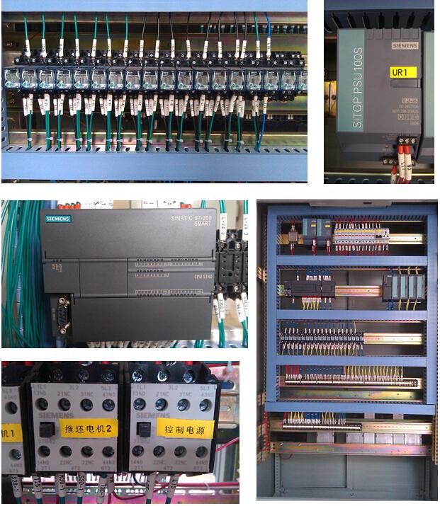 425砖机控制箱电路图
